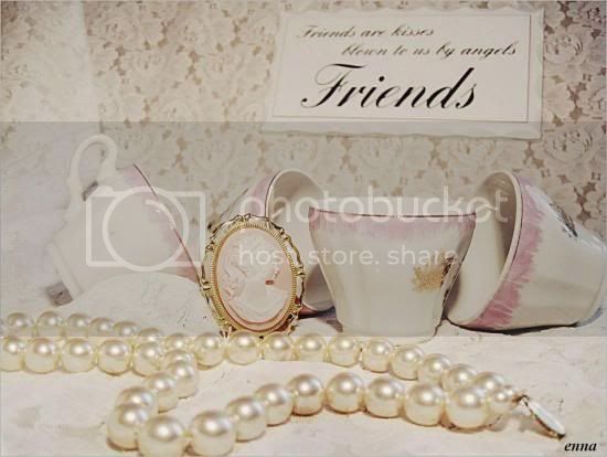 Friends, pearls &amp;amp; teacups!